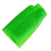 Латексна фітнес стрічка еспандер для розтяжки м'язів, зелений