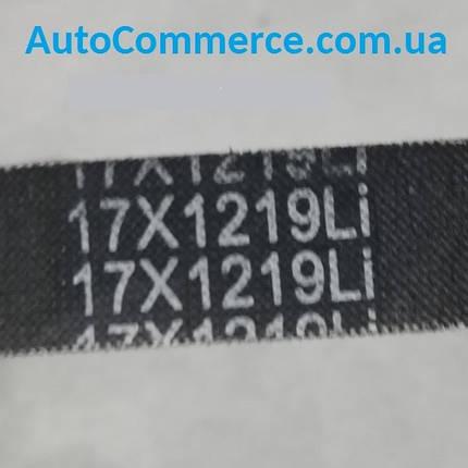 Ремень генератора (вентилятора) Dong Feng 1044, ДонгФенг, Богдан DF30 (17X1219), фото 2