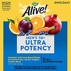 Nature's Way Alive!® Men's 50+ Вітаміни + мінерали+ екстракти для чоловіків від 50 років 50 таблеток, фото 5