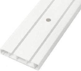 Карниз пластмасовий Euro Vinil ОМ2 подвійний 3,50м