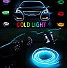Подсветка EL-1302-2м для автомобиля CAR Cold Light Line, фото 5
