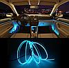 Подсветка EL-1302-2м для автомобиля CAR Cold Light Line, фото 7