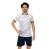 Распродажа! Футбольная форма футболка и шорты белая CO-8246, размер XL (50-52)