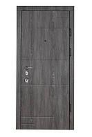 Двери входные металлические Булат Олимп 850*2050/950*2050 166 Дуб шале графит/дуб шале седой