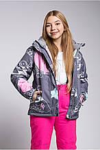 Дитяча гірськолижна куртка сіра freever