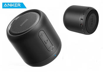 Anker SoundCore Mini Black Супер портативная колонка Анкер 5W 1800mAh + AUX / FM радио / MicroSD / Bluetooth