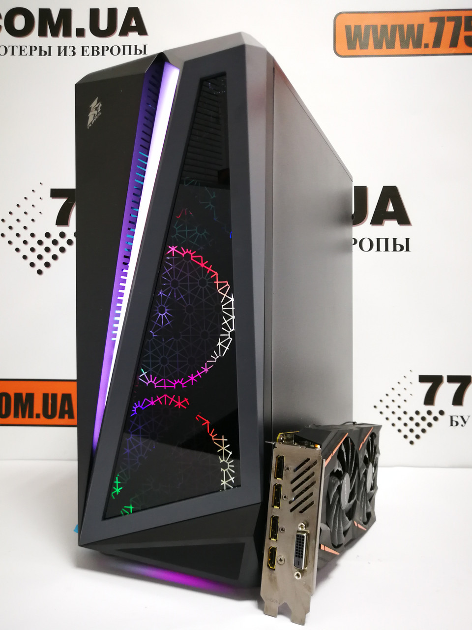 Игровой компьютер, AMD Ryzen 5 1600 3.60GHz (12 потоков), 16ГБ DDR4, SSD 240ГБ, HDD 1ТБ, GTX 1060 3ГБ