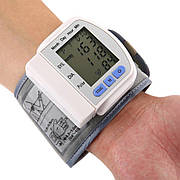 Цифровий тонометр на зап'ястя Blood Pressure Monitor CK-102S