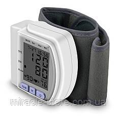 Цифровой тонометр на запястье Blood Pressure Monitor CK-102S, фото 3