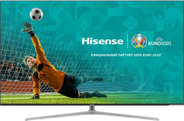 Телевизор Hisense H55U7A  (Smart TV / Ultra HD / 4К / 120 Гц / PPI 2400 / Wi-Fi / DVB-C/T/S/T2/S2)