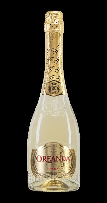 Вино игристое Oreanda Gold белое сладкое 0.75 л 12.5%