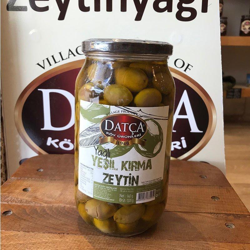 Оливки зеленые Kirma Datca в масле 940 г