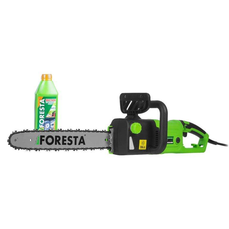 Електропила ланцюгова Foresta FS-2740DS + Масло для ланцюга