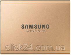 Samsung T5 500GB Złoty (MU-PA500G/EU)