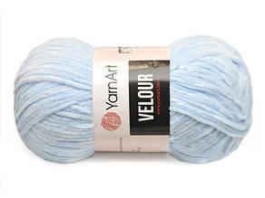 YarnArt Velour, Голубой №851