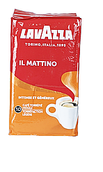 Кофе молотый LAVAZZA лаваца (лавазза)il Mattino 250 грамм.