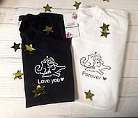 Парні футболки Котики, фото 1