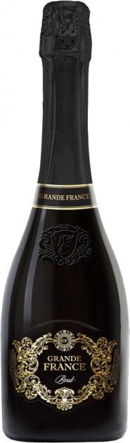 Вино игристое Grande France белое брют 0.75 л 10.5%-12.5%