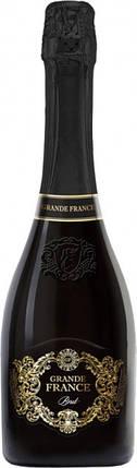 Вино игристое Grande France белое брют 0.75 л 10.5%-12.5%, фото 2
