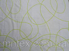 Ткань для пошива постельного белья бязь голд Завитки комп.