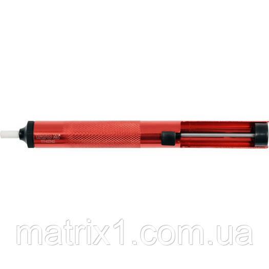 Шприц оловоотсос для удаления припоя (d=19,5мм/L=190мм) YATO