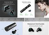 Сенсорные беспроводные наушники Mifa  X1 гарнитура + Power Bank 400mAh Bluetooth 5.0 Touch control, фото 6
