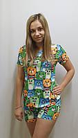 Пижама женская бамбук 550, фото 1