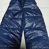 Зимний костюм модный красивый нарядный оригинальный теплый для мальчика. Внутри- меховая подстежка., фото 3