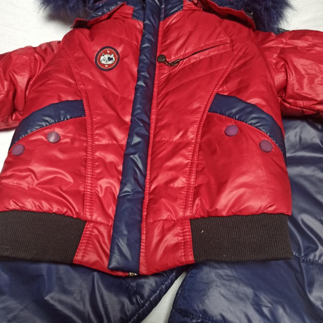 Зимний костюм модный красивый нарядный оригинальный теплый для мальчика.