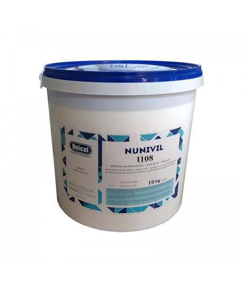 Клей ПВА Д4 NUNIVIL 1108 (5 КГ) Однокомпонентный столярный водостойкий клей для дерева (Unicol, Италия)