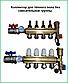 Колектор теплої підлоги AquaWorld для низькотемпературних систем на 11 контурів, фото 2