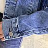 Куртка жіноча коротка джинсова світло-синя Girl #75, фото 9