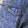 Куртка жіноча коротка джинсова світло-синя Girl #75, фото 7