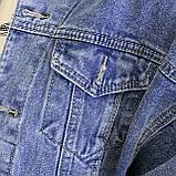 Куртка женская джинсовая короткая светло-синяя Girl #75, фото 7