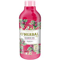 Гель для душа Vegan Ніжність амаранта Малина 400 мл O`Herbal Vegan