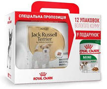Royal Canin (Роял Канин) Jack Russell Adult - Сухой корм для собак породы Джек-Рассел терьер 3 кг + 12 паучей