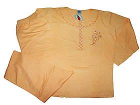 Пижама женская  байка с начесом, размер М, арт. 1046