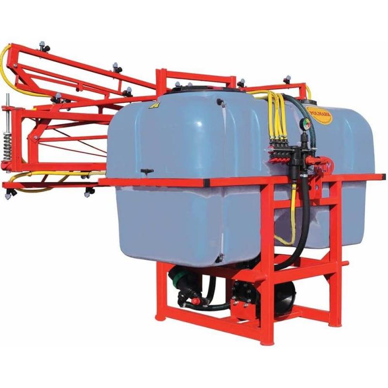 Опрыскиватель для трактора навесной Полмарк 1000 литров (штанга 16 метров, стабилизатор)