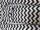 """Кокон гнездышко (позиционер для новорожденных). Цвет: волна черная. В подарок ортопедическая подушка """"бабочка"""", фото 2"""