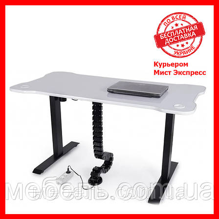 Регульований стіл Barsky StandUp Memory + кабель-менеджмент BSU_el-03/BCM-01, фото 2