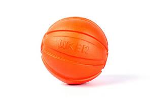 Мячик LIKER 5 5 см оранжевый для мелких пород собак 6298 (4823089302935)