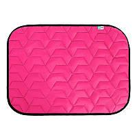 Подстилка AiryVest для собак 55х40 см S розовая/черная 0076 (4823089311791)