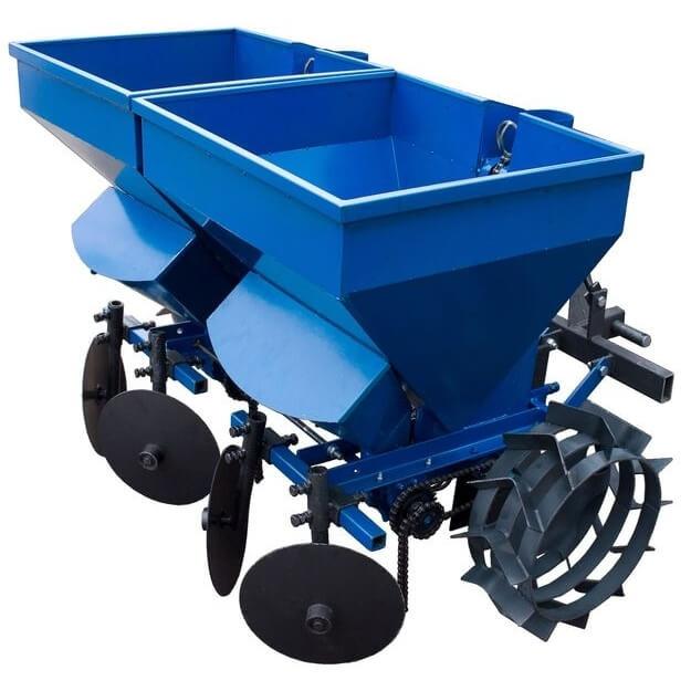 Саджалка картоплі до трактора КС15 (з бункером для добрив)