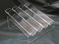 Торгова вітрина для макарун тістечок на 4 доріжки, фото 1