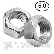 Гайки шестигранні М5 DIN 934, ГОСТ 5915-70 ГОСТ 5927-70 клас міцності 5.0, 6.0