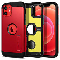 "Чохол Spigen для iPhone 12 / iPhone 12 Pro (6.1"") - Tough Armor, RED (ACS02253)"