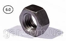 Гайки шестигранні М8 DIN 934, ГОСТ 5915-70 ГОСТ 5927-70 клас міцності 5.0, 6.0