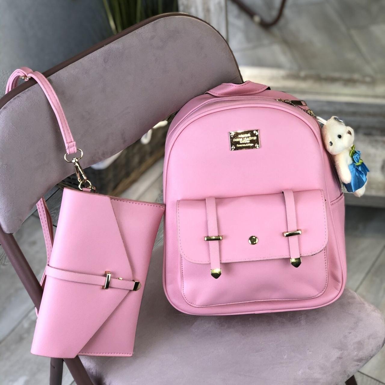 Жіночий рюкзак з сумочкою 2 в 1