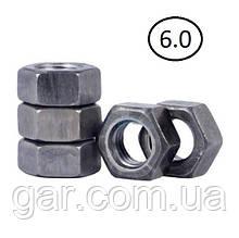 Гайки шестигранні М10 DIN 934, ГОСТ 5915-70 ГОСТ 5927-70 клас міцності 5.0, 6.0