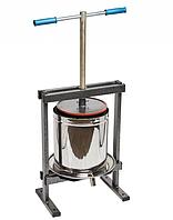 Пресс для отжима сока Вилен 25 литров из нержавеющей стали